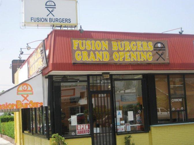 fusion burgers beginning